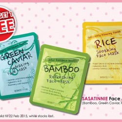 Buy 2 get 1 free Sasatinnie Beauty Care Face Mask