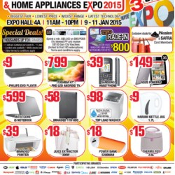 Consumer Electronics & Home Appliances Expo 2015