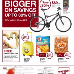 Warehouse Club | Bigger on Savings January 2015