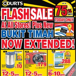 Courts | Up to 75% OFF Flash Sale at all stores
