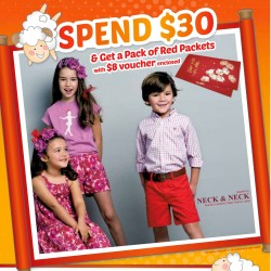 Free S$8 Voucher with S$30 Spend @ Kidstyle