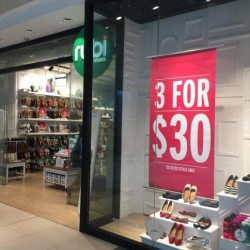 Flats, Sandals & Sneakers 3 for $30 promotion @ Rubi