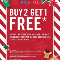Buy 2 get 1 free promotion @ KidStyle