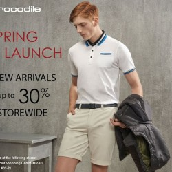 Up to 30% off storewide on new arrival @ Crocodile