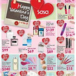 Valentine's Day promotion @ SaSa