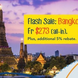 Fly to Bangkok on Thai Airways fr $273 (all-in) on ZUJI