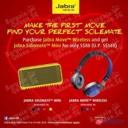 PWP Jabra Solemate Mini portable wireless speaker @ Infinite