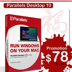 $20 off Parallels Desktop 10 for Mac @ Infinite