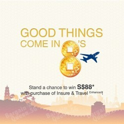 28% off Single Trip travel insurance plan with UOB cards
