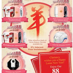 Chinese New Year promotion @ Clariancy