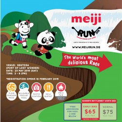 Meiji Run 2015 @ Sentosa registration open