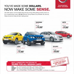Chinese New Year Special $6888 off for all Nissan cars