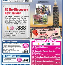Fabulous Vacation sale @ New Shan Travel