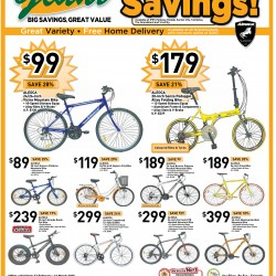 Hypermarket Savings Aleoca bicycle special @ Giant