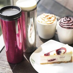 Valentine's Day tumbler set @ Starbucks Fullerton Waterboat House