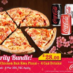 CNY party grab-and-go bundle @ Pezzo Pizza