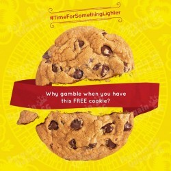 Free cookie with sub purchase @ Subway