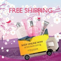 Free shipping on orders over $60 @ L'OCCITANE
