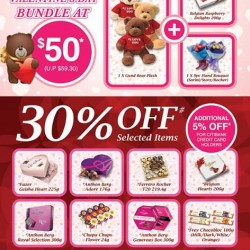 Valentine's Day special bundle @ The Cocoa Trees