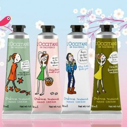 4 seasons of nature redesigned by Soledad available @ L'OCCITANE