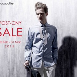 Post-CNY Sale @ Crocodile