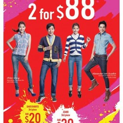 2 Jeans for $88 @ Denizen