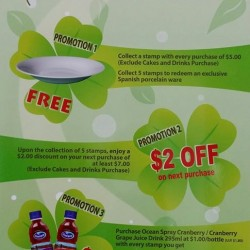 Annual Spring Promotion @ Four Leaves