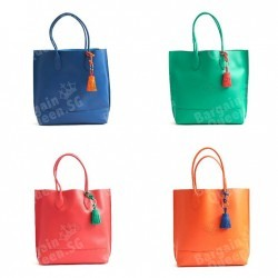 Free Tassel Keyring with purchase of Mulberry Blossom Tote