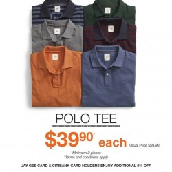 Polo Tee Promotion @ Dockers