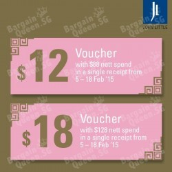 Free voucher with purchase @ John Little