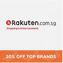 #GOSF2015 20% OFF Top Brands @ Rakuten.com.sg