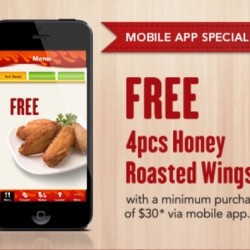 Free Chicken Wings and more @ Pizza Hut Delivery
