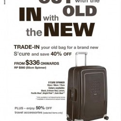 Samsonite Trade in Promotion