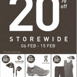 20% off End of Season Sale @ Running Lab