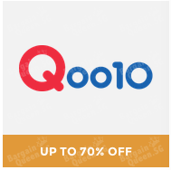 #GOSF up to 70% off top brands @ Qoo10