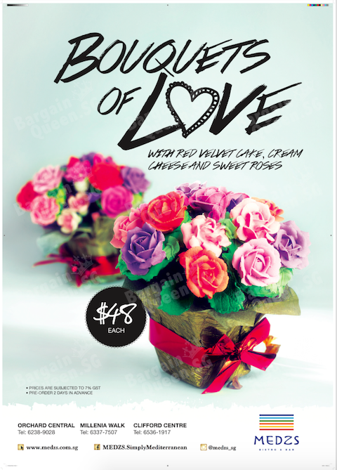 Bouquets of Love @ MEDZS Cupcakes