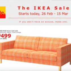 The IKEA sale is happening