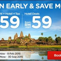 Plan Early & Save More @ AirAsiaGo