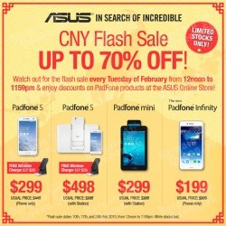 GOAT great deals this CNY @ ASUS Online store