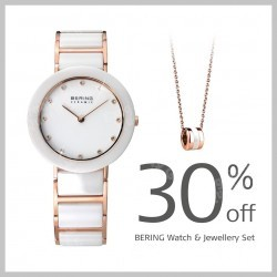 BERING Watch and Jewellery Set Vday Promo @ Bering Time