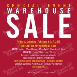 FitFlop Singapore Warehouse Sale Special Event