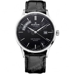 EDOX Men's Les Vauberts Day Date Automatic Watch @ Ashford