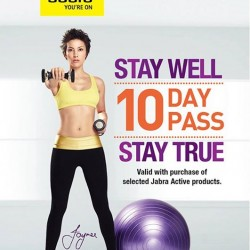 10 days pass to true fitness with purchase @ nübox