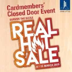 Real Hot Sale Cardmembers' Closed Door Event @ John Little