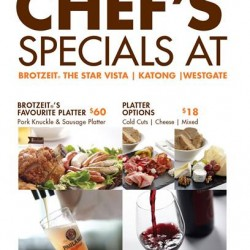 Chef's Specials @ Brotzeit
