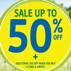 Up to 50% Off + Extra 10% Off when you buy 3 or more @ KidStyle