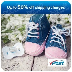 up to 50% off Vpost shipping chargers with Citibank Cards