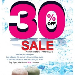 Up to 30% off @ Mochi Sweets