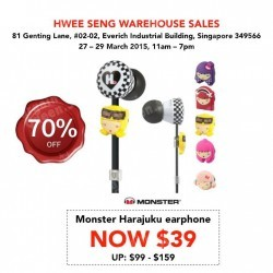 Up to 70% Off Hwee Seng Warehouse Sale is Back!