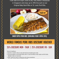 Up To 35% Discount Voucher @  Tony Roma's
